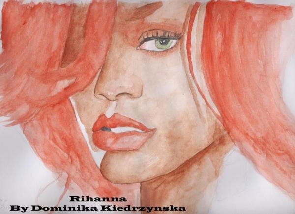 Rihanna by tigerlady